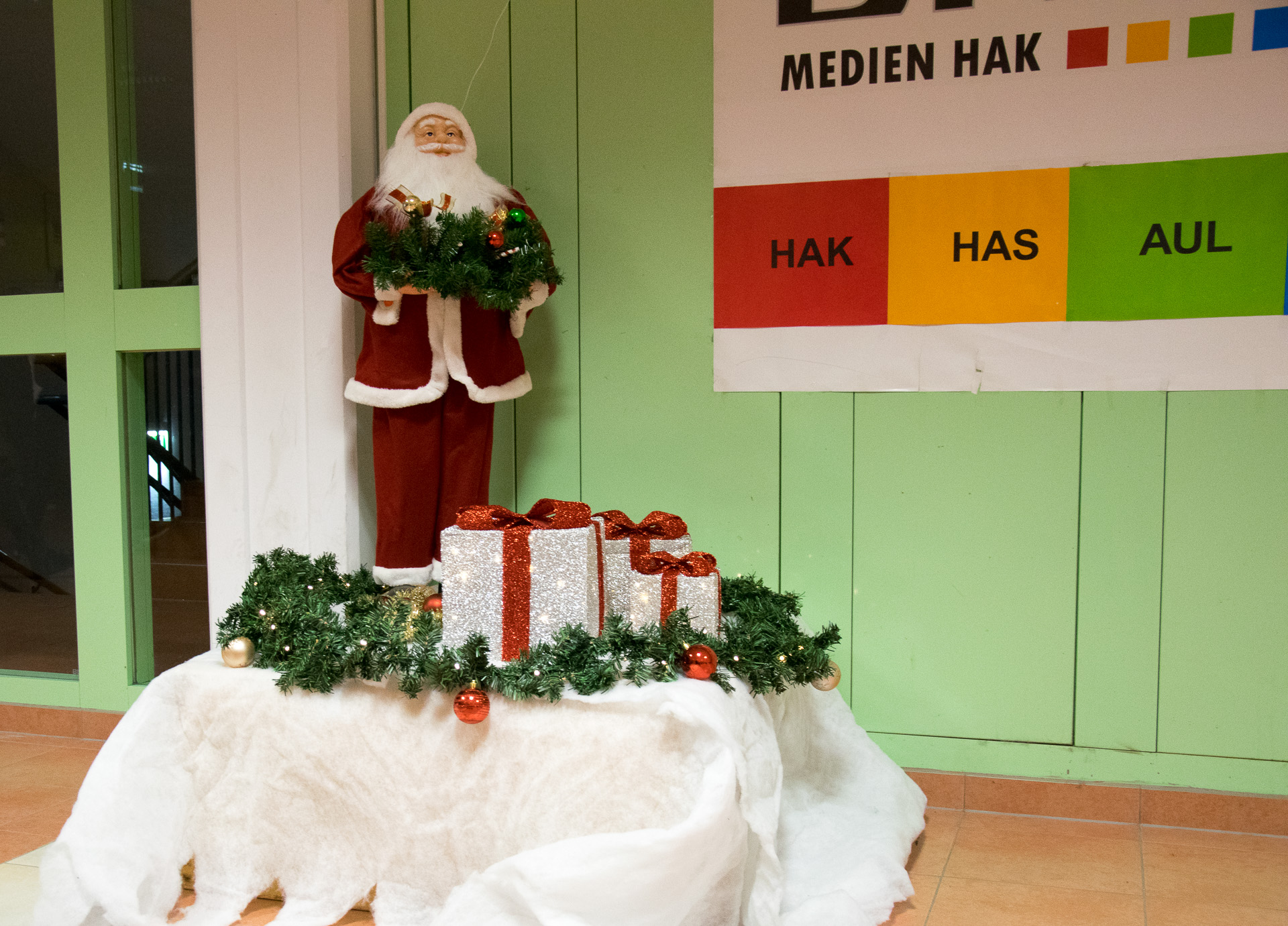 Santa Claus in der Medienhak!